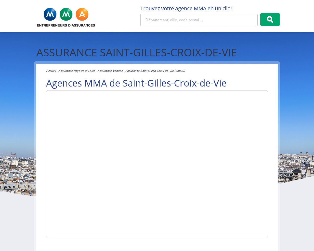 Clic Saint Gilles Croix De Vie mma iard assurances mutuelles gilles