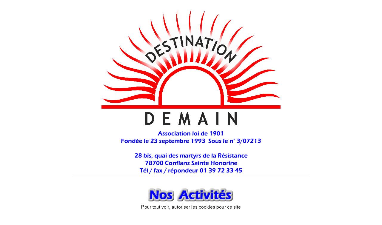 Association Destination Demain