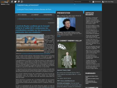Le blog de Thierry Vallat, avocat au Barreau de...