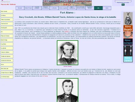 fort alamo : crockett - travis - bowie - santa anna