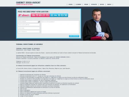 Tribunal correctionnel de Grenoble - Cabinet...