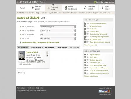 Conseil juridique - Avocats sur ORLEANS (Loiret)
