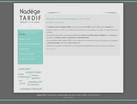 Nadège Tardif - Avocat au Barreau de Caen (14)