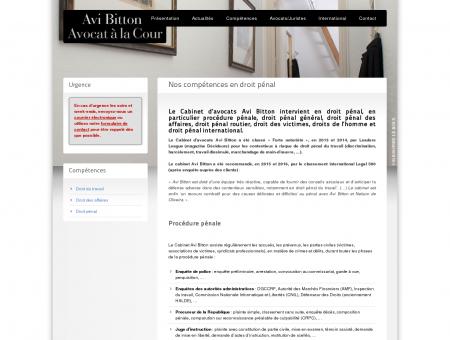 Avocat Droit Pénal   avibitton.com