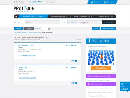 Avocat à Le Bourget (93350) : trouvez un...