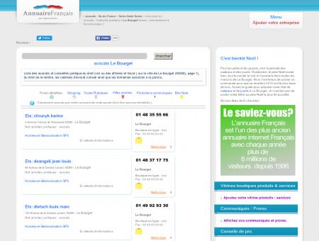 Avocats / Cabinets juridique à Le Bourget...
