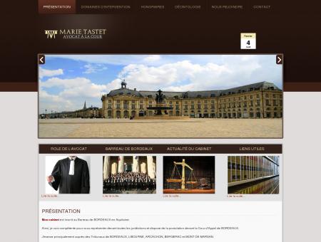 Avocat Marie TASTET Bordeaux, droit famille,...