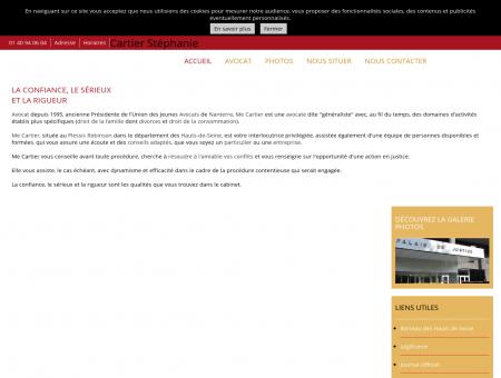 Avocats - Cartier Stéphanie à Le Plessis Robinson