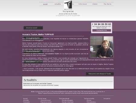 Avocat Turpaud Toulon, cabinet avocat divorce...