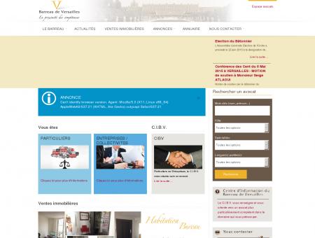Accueil - Barreau de Versailles - ordre des...