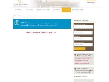 Annuaire - Barreau de Versailles - ordre des...