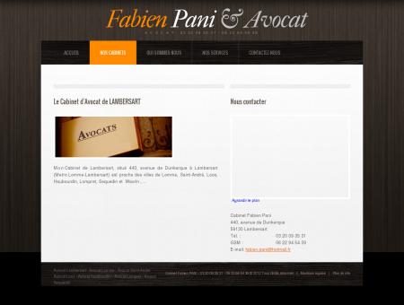 Fabien Pani avocat dans les communes de...