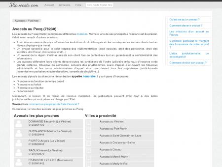 Avocats au Pecq (78230) - Annuaire des avocats