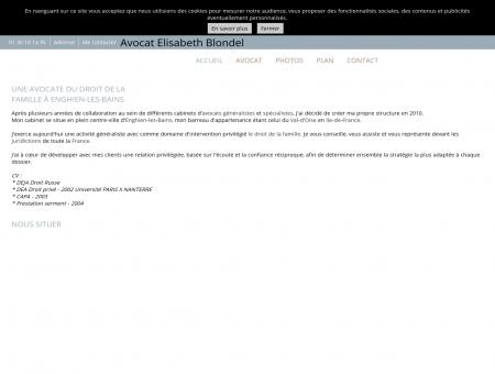 Cabinet d'avocat - Enghien-les-Bains - Val-d'Oise
