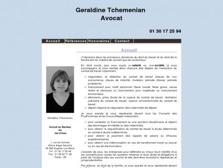 Geraldine Tchemenian Avocat Enghien...
