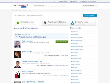 Avocat Rhône-Alpes - Juritravail : droit du...