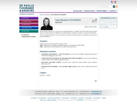 Henri-Nicolas FLEURANCE - De Gaulle...