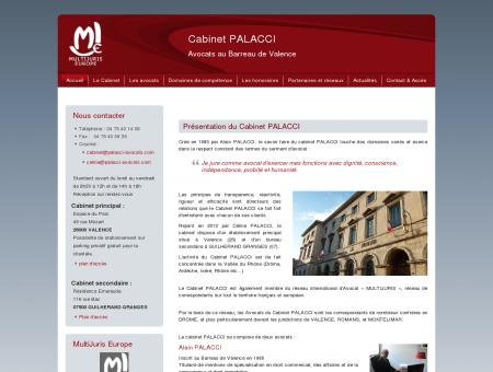 Accueil - Cabinet Palacci - Avocats Valence