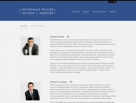 Avocats   Dethomas Peltier Juvigny & Associés