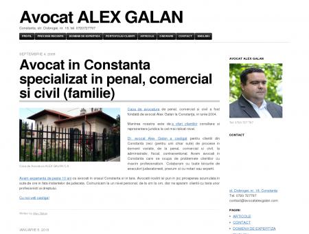 Avocat ALEX GALAN | Constanta, str. Dobrogei, nr. 18, tel ...