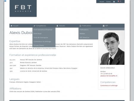 FBT   Alexis Dubois-Ferrière