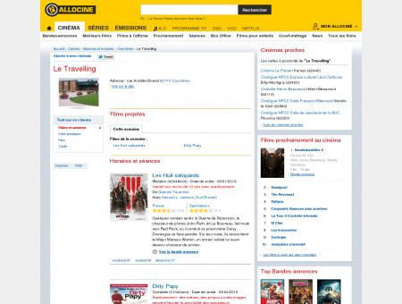 Le Travelling (cinéma à Courrières) : programme ...