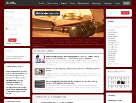 Avocat : trouver un avocat sur le guide des...