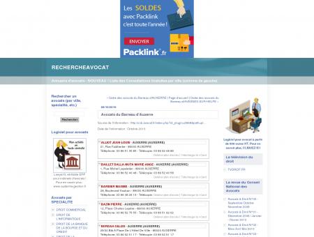 Avocats du Barreau d'Auxerre :...