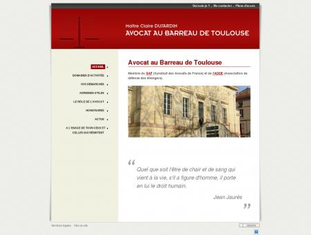 AVOCAT TOULOUSE - Maître Dujardin