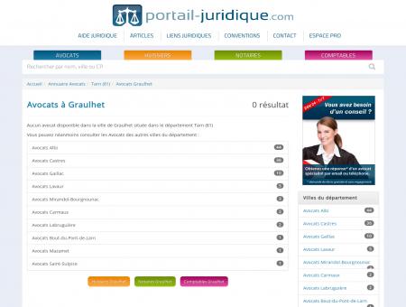 Avocat à Graulhet (81) - Portail Juridique :...