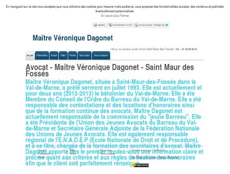 Maître Véronique Dagonet à Saint-Maur-des...