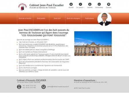 Cabinet avocat Escudier