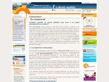 Conseil juridique en ligne en droit public -...