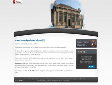 Avocat divorce Le Havre - TALBOT MAGALI :...