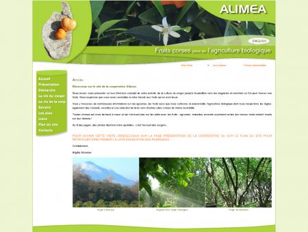 Alimea, fruits corses issus de l'agriculture...