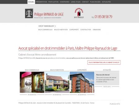 Avocat spécialisé en droit immobilier Paris -...