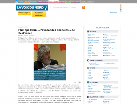 Philippe Brun, « l'avocat des licenciés » de...
