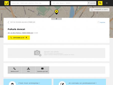 Fulturis Avocat Le Mans (adresse) -...