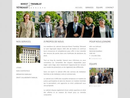 Avocat Montréal - Rivest Tremblay Tétreault,...