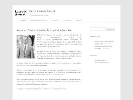 Pierre Lacroix Avocat | Avocat au barreau de...