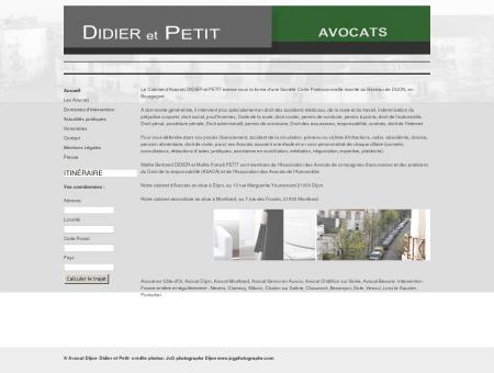 Cabinet d'avocats Dijon,avocat...