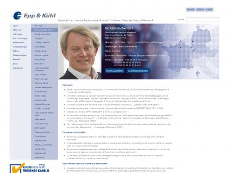 Epp & Kühl Avocats Rechtsanwälte - Dr....