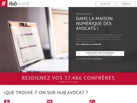 Hub Avocat : La plateforme professionnelle...