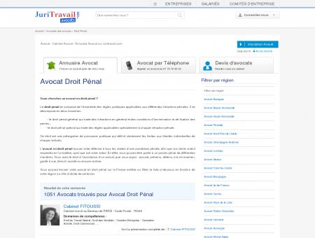 Avocat Droit Pénal - Juritravail : droit du travail ...