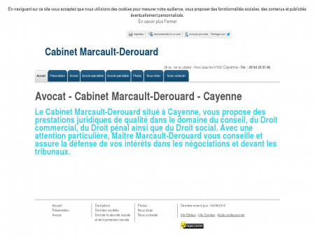 Avocats - Cabinet Marcault-Derouard à Cayenne