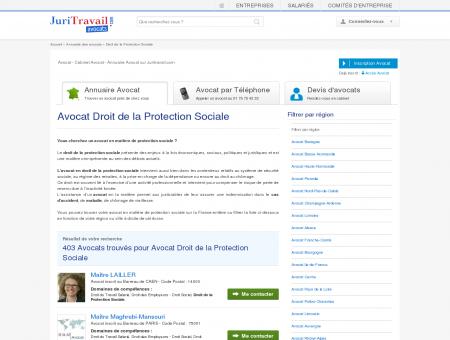 Avocat Droit de la Protection Sociale -...
