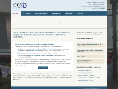 Cesis, avocats au barreau de Clermont-Ferrand