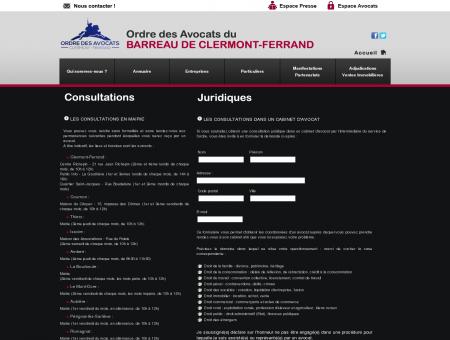 Site officiel de l'Ordre des Avocats du Barreau...