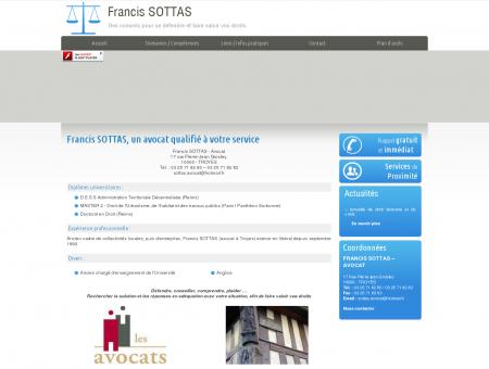 Avocat Troyes - Francis SOTTAS : avocat droit...