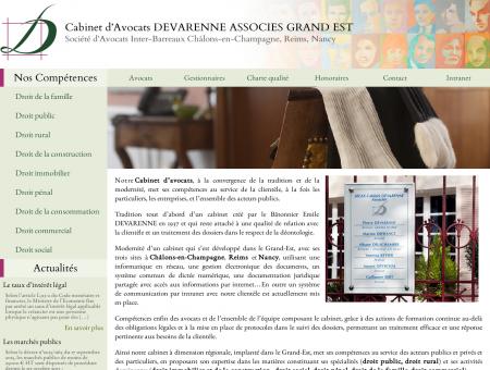 Cabinet d'Avocats DEVARENNE ASSOCIES...